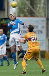Motherwell v St Johnstone&hellip;13.08.16..  Fir Park  SPFL<br />Murray Davidson and Craig Clay<br />Picture by Graeme Hart.<br />Copyright Perthshire Picture Agency<br />Tel: 01738 623350  Mobile: 07990 594431