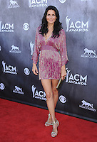 LAS VEGAS, NV - APRIL 6:  Angie Harmon at the 49th Annual Academy of Country Music Awards at the MGM Grand Garden Arena on April 6, 2014 in Las Vegas, Nevada.MPIPG/Starlitepics