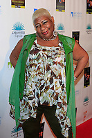 """MALIBU - OCT 21: Luenell at the """"Enter Miss Thang"""" Book Launch Party at Cafe Habana on October 21, 2013 in Malibu, California"""