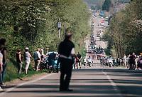 peloton<br /> <br /> 104th Li&egrave;ge - Bastogne - Li&egrave;ge 2018 (1.UWT)<br /> 1 Day Race: Li&egrave;ge - Ans (258km)