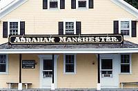 Abraham Manchester store, Adamsville, RI