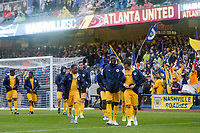 Nashville, TENN. - Saturday February 10, 2018: Nashville SC during a preseason exhibition match between Nashville SC vs Atlanta United FC at First Tennessee Park.