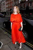 LONDON, ENGLAND - JUNE 04 :  Freya Ridings arrives at The Royal Academy Of Arts Summer Exhibition preview party at The Royal Academy on June 04, 2019 in London, England.<br /> CAP/AH<br /> ©AH/Capital Pictures