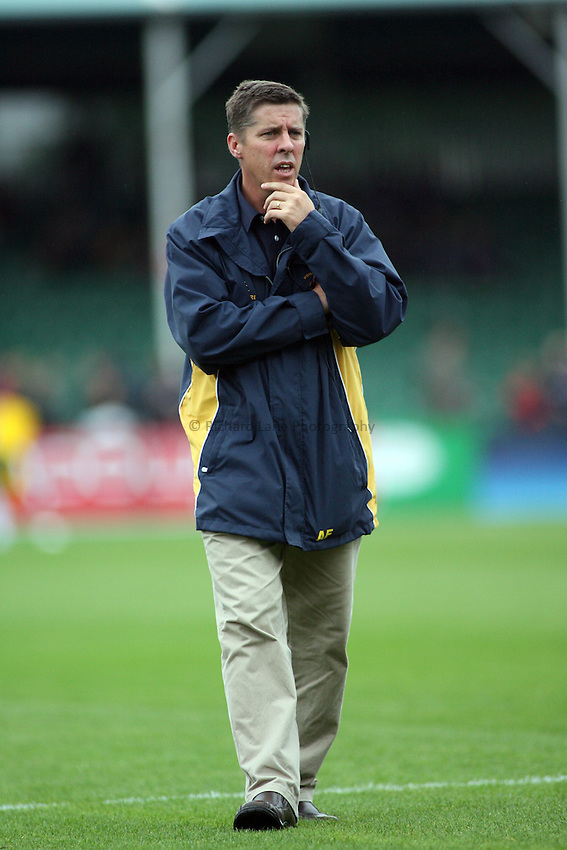 Photo: Rich Eaton...Worcester Warriors v Bristol Rugby. Guinness Premiership. 02/09/2006. Anthony Eddy head coach at Worcester.