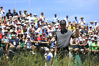 Bubba Watson (USA) on the 1st tee to start his match during Thursday's Round 1 of the 117th U.S. Open Championship 2017 held at Erin Hills, Erin, Wisconsin, USA. 15th June 2017.<br /> Picture: Eoin Clarke | Golffile<br /> <br /> <br /> All photos usage must carry mandatory copyright credit (&copy; Golffile | Eoin Clarke)