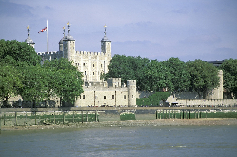 Tower of London and the River Thames