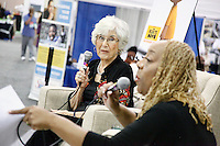PHILADELPHIA, PA - JULY 12:  Harriet Glickman and Patty Jackson pictured at NAACP Convention at the Convention Center  on July 12, 2015 in Philadelphia,Pa  photo credit Star Shooter / MediaPunch  HOUSE COVERAGE
