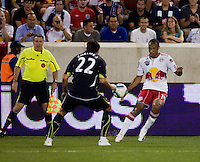 Thierry Henry, Vedran Corluka. Tottenham defeated the New York Red Bulls, 2-1.