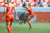 Houston, TX - Saturday May 13, Houston Dash defender Cari Roccaro (5) during a regular season National Women's Soccer League (NWSL) match between the Houston Dash and Sky Blue FC at BBVA Compass Stadium. Sky Blue won the game 3-1.