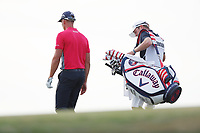 Henrik Stenson (SWE) walks off the 17th green during the third round of the 118th U.S. Open Championship at Shinnecock Hills Golf Club in Southampton, NY, USA. 16th June 2018.<br /> Picture: Golffile | Brian Spurlock<br /> <br /> <br /> All photo usage must carry mandatory copyright credit (&copy; Golffile | Brian Spurlock)
