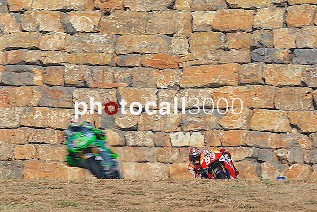 Gran Premio Movistar de Aragón<br /> during the moto world championship in Motorland Circuit, Aragón<br /> marc marquez<br /> PHOTOCALL3000