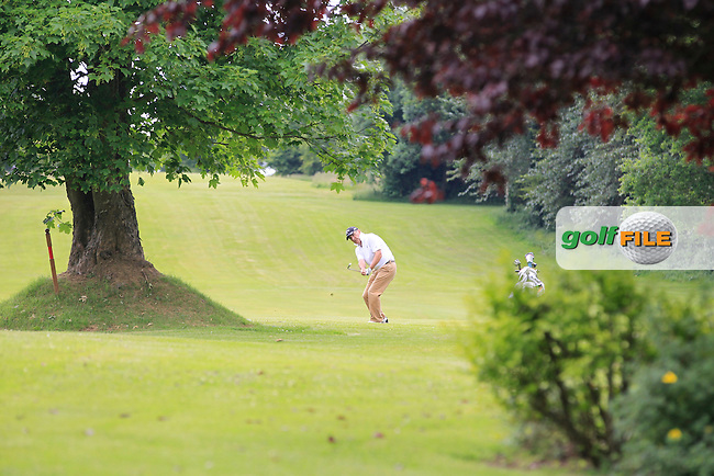 Denis Deasy (Waterford) on the 7th fairway during Round 1 of the Leinster Seniors Amateur Open Championship at Enniscorthy Golf Club on Tuesday 23rd June 2015.<br /> Picture:  Thos Caffrey / www.golffile.ie