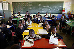 Young students in a primary school in Soweto. (Photo by: Per-Anders Pettersson)