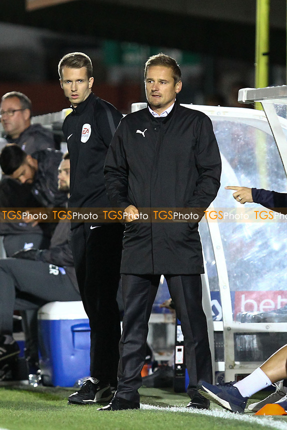 AFC Wimbledon manager Neal Ardley during AFC Wimbledon vs Bradford City, Sky Bet EFL League 1 Football at the Cherry Red Records Stadium on 2nd October 2018