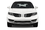Car photography straight front view of a 2016 Lincoln MKX Black Label 5 Door Suv Front View