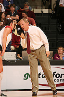 18 November 2005: John Dunning during Stanford's 3-2 win over California in the Big Spike at Maples Pavilion in Stanford, CA.