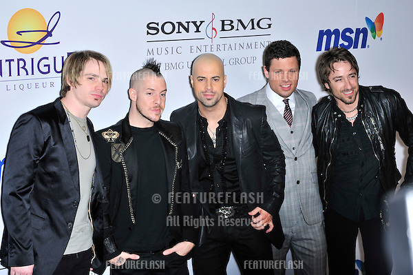 Daughtry at music mogul Clive Davis' annual pre-Grammy party at the Beverly Hilton Hotel..February 9, 2008  Los Angeles, CA.Picture: Paul Smith / Featureflash