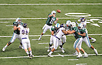 Tulane is downed by East Carolina, 28-23, in the final regular season home game at the Mercedes-Benz Superdome.