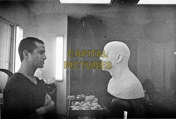 Looper (2012)<br /> Behind the scenes photo of Joseph Gordon-Levitt  <br /> *Filmstill - Editorial Use Only*<br /> CAP/KFS<br /> Image supplied by Capital Pictures