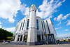 Baitul Futuh Mosque, at an event to commemorate the establishment of The Ahmadiyya Caliphate, a non-political caliphate established on May 27, 1908. &nbsp;<br /> <br /> Following on from the tragic events in Manchester, Ed discussed the events in Manchester and reasserted the importance of traditional liberal values in defeating extremism.&nbsp;<br /> <br /> 27th May 2017 <br /> at the Baitul Futuh Mosque, Morden, Surrey <br /> <br /> <br /> Photograph by Elliott Franks <br /> Image licensed to Elliott Franks Photography Services