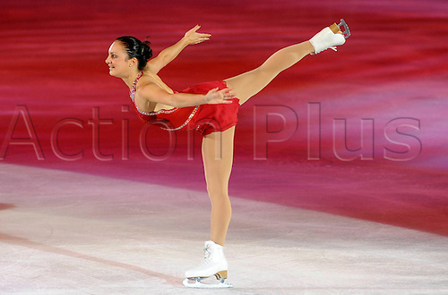 The Golden Skate Awards, Palavela, Turin, Italy. Gran Gala del Ghiaccio - 10 October 2009. .Pictured: Sarah Meier. Photo by Sync/actionplus. Editorial use only (excluding Italy)