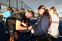 Signing session during the Pro League Hockey match between the Blacksticks men and the Argentina, Nga Punawai, Christchurch, New Zealand, Friday 28 February 2020. Photo: Simon Watts/www.bwmedia.co.nz