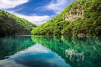 Milanovac Jezero (Lake) Plitvice National Park, Croatia