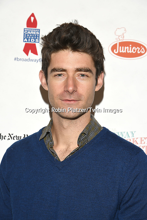 Drew Gehling attends the Broadway Cares/Equity Fights Aids Flea Market and Grand Auction on September 25, 2016 at the Music Box Theatre and in Shubert Ally in New York, New York, USA. <br /> <br /> photo by Robin Platzer/Twin Images<br />  <br /> phone number 212-935-0770