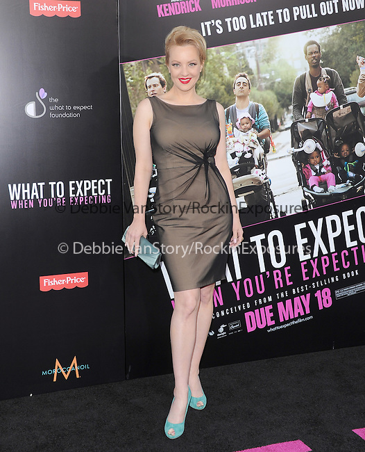 Wendi McLendon-Covey at Lionsgate L.A. Premiere of  What to Expect When You're Expecting held at The Grauman's Chinese Theatre in Hollywood, California on May 14,2012                                                                               © 2012 Hollywood Press Agency