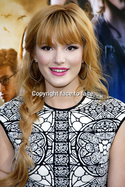 Bella Thorne at the Los Angeles premiere of &quot;The Mortal Instruments: City Of Bones&quot; held at the Cinerama Dome in Hollywood in Los Angeles, California, 12.08.2013.<br />