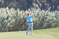 Austin Connelly (CAN) on the 7th tee during Round 1 of the Rocco Forte Sicilian Open 2018 on Thursday 10th May 2018.<br /> Picture:  Thos Caffrey / www.golffile.ie<br /> <br /> All photo usage must carry mandatory copyright credit (&copy; Golffile | Thos Caffrey)