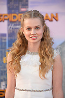 Angourie Rice at the world premiere for &quot;Spider-Man: Homecoming&quot; at the TCL Chinese Theatre, Los Angeles, USA 28 June  2017<br /> Picture: Paul Smith/Featureflash/SilverHub 0208 004 5359 sales@silverhubmedia.com