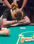 Bette Carswell can't bear to watch after she goes all in.