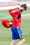 Spain's Gerard Pique during training session. March 22,2017.(ALTERPHOTOS/Acero)