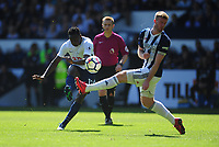 Tottenham Hotspur's Victor Wanyama has a shot at goal<br /> <br /> Photographer Ashley Crowden/CameraSport<br /> <br /> The Premier League - West Bromwich Albion v Tottenham Hotspur - Saturday 5th May 2018 - The Hawthorns - West Bromwich<br /> <br /> World Copyright &copy; 2018 CameraSport. All rights reserved. 43 Linden Ave. Countesthorpe. Leicester. England. LE8 5PG - Tel: +44 (0) 116 277 4147 - admin@camerasport.com - www.camerasport.com
