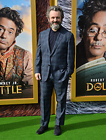 "LOS ANGELES, USA. January 11, 2020: Michael Sheen at the premiere of ""Dolittle"" at the Regency Village Theatre.<br /> Picture: Paul Smith/Featureflash"