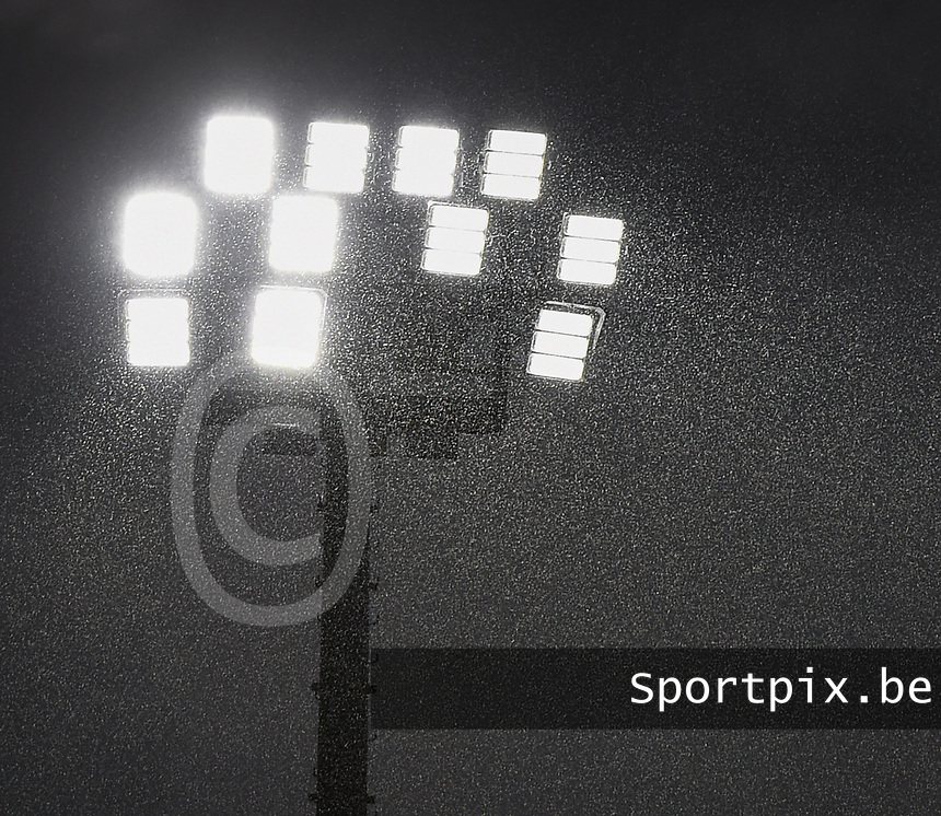 20170723 - BREDA , NETHERLANDS : illustration of the weather conditions during the game pictured during the female soccer game between England and Spain  , the second game in group D at the Women's Euro 2017 , European Championship in The Netherlands 2017 , Sunday 23 th June 2017 at Stadion Rat Verlegh in Breda , The Netherlands PHOTO SPORTPIX.BE | DIRK VUYLSTEKE