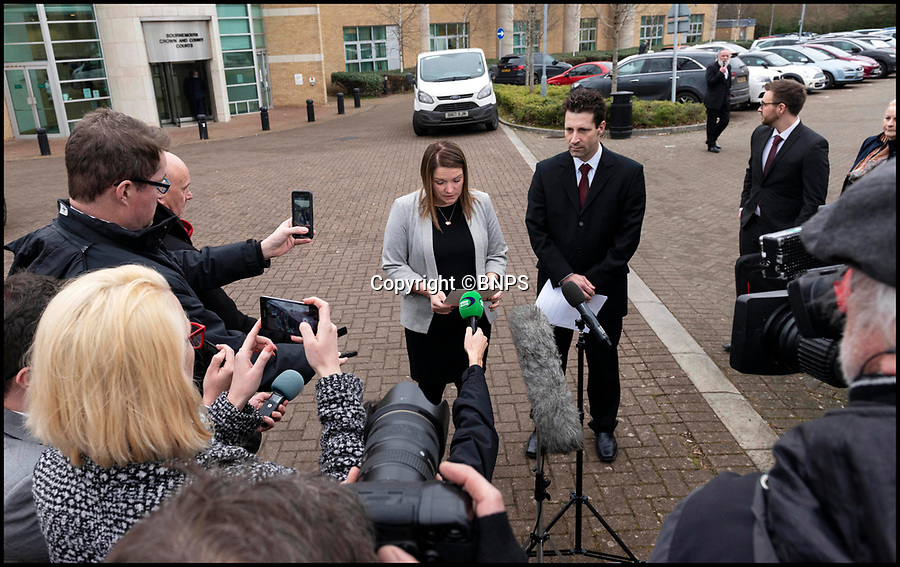BNPS.co.uk (012902 558833)<br /> Pic: RogerAborn/BNPS<br /> <br /> Alexys mother Lorraine Brown(33) read out a statement after the trial.<br /> <br /> Two companies responsible for an appalling catalogue of failures that led to the death of a five-year-old girl in her home have today been fined more than £1.5m.<br /> <br /> Alexys Brown died of severe head injuries after getting it trapped in a broken door panel of a disability lift that was for her wheelchair-bound  brother Jack.<br /> <br /> As the lift ascended her head crushed against the ceiling in her home in Weymouth, Dorset, in August 2015.<br /> <br /> Landlord Synergy Housing and lift maintenance form Orona Ltd admitted breaching health and safety laws and were fined at Bournemouth Crown Court.