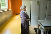 Raisa Guchigova. Refugee Center Grotniki. 2015.07.30. Grotniki, near Łódź. Poland