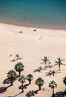 Playa de las Teresitas. Teneriffa, Kanarische Inseln, Spanien