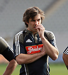Conrad Smith. All Blacks training. Auckland, Wednesday 22 August 2007.