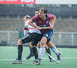 AMSTELVEEN - Steven van Rhede van der Kloot (HCKZ) tijdens de hoofdklasse competitiewedstrijd mannen, Amsterdam-HCKC (1-0).  COPYRIGHT KOEN SUYK