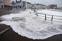 2018 01 04 Storm Eleanor, Aberystwyth, Wales, UK