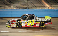 Nov. 13, 2009; Avondale, AZ, USA; NASCAR Camping World Truck Series driver Mike Bliss during the Lucas Oil 150 at Phoenix International Raceway. Mandatory Credit: Mark J. Rebilas-