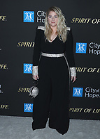 SANTA MONICA, CA - OCT 7:  Meghan Trainor at the City Of Hope Spirit Of Life Gala 2019 at the Barker Hangar on October 7. 2019 in Santa Monica, California. (Photo by Xavier Collin/PictureGroup)