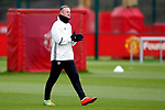 Wayne Rooney of Manchester United during the Manchester United open training session at the Carrington Training Centre, Manchester. Picture date: May 19th 2017. <br /> Pic credit should read: Matt McNulty/Sportimage