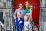 Luca Fusco from Gaelsscoil Mhic Easmainn NS received his First Holy Communion in St John's Church on Saturday.<br /> L to r: Joe Fusco, Jennifer O'Sullivan and Christopher Fusco.