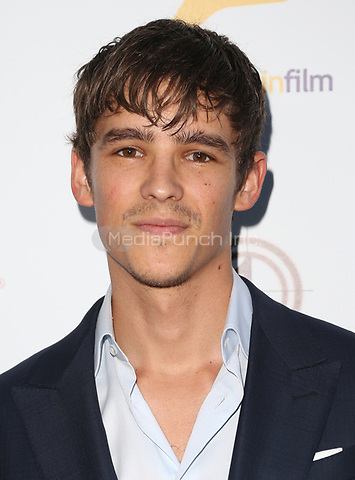 WEST HOLLYWOOD, CA June 01- Brenton Thwaites, at The 9th Annual Australians In Film Heath Ledger Scholarship Dinner at Sunset Marquis Hotel, California on June 01, 2017. Credit: Faye Sadou/MediaPunch