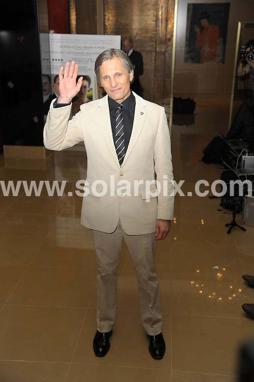 **ALL ROUND PICTURES FROM SOLARPIX.COM**                                             **WORLDWIDE SYNDICATION RIGHTS**                                                                                  Caption:  A Dangerous Method - gala film screening.Crystal Room, The May Fair Hotel, Berkley Street.London                                                                             .This pic:  Viggo Mortensen                                                                                            JOB REF: 14404       MSR       DATE:  31.01.2012                                                          **MUST CREDIT SOLARPIX.COM OR DOUBLE FEE WILL BE CHARGED**                                                                      **MUST AGREE FEE BEFORE ONLINE USAGE**                               **CALL US ON: +34 952 811 768 or LOW RATE FROM UK 0844 617 7637**