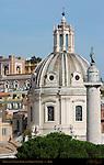 Santissimo Nome di Maria Dome Antoine Derizet Trajan's Column from Victor Emmanuel II Monument Trajan's Forum Rome